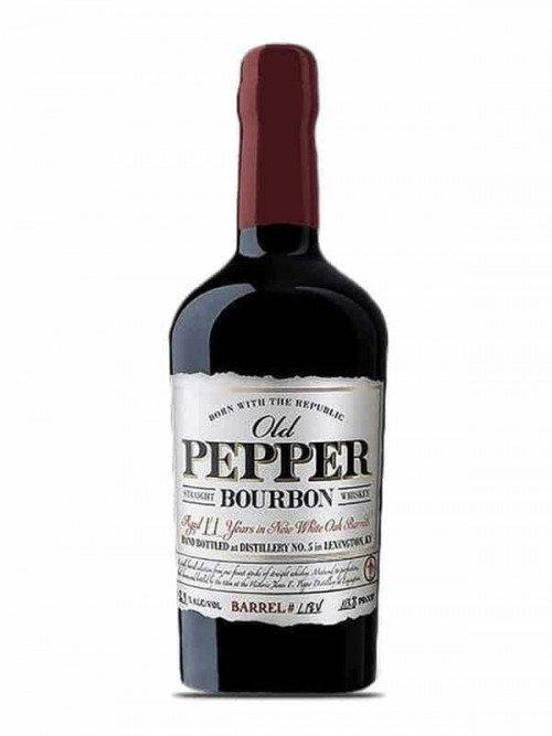 Old Pepper 11yr Straight Bourbon 750ml