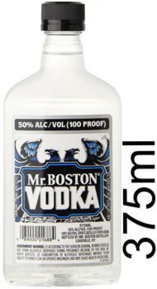 Mr. Boston Vodka 100 Proof 375ml