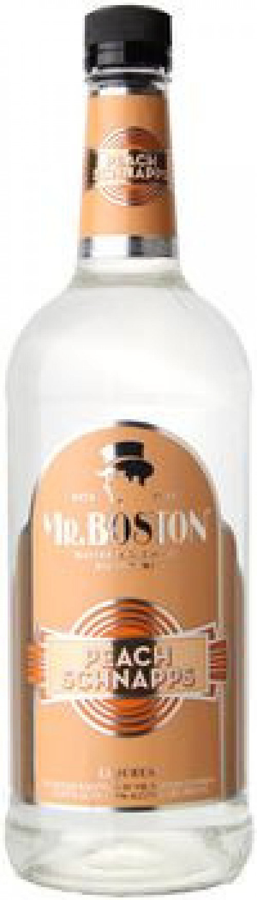Mr Boston Peach Schnapps 1L