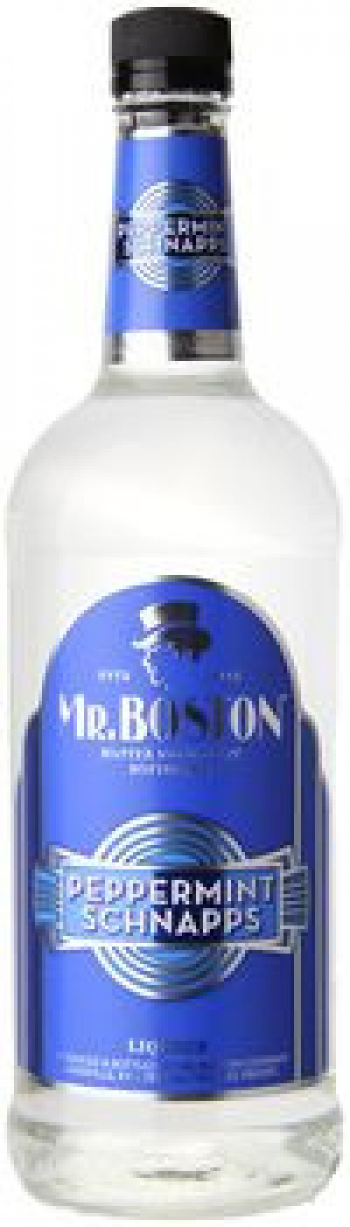 Mr Boston Peppermint Schnapps 1L
