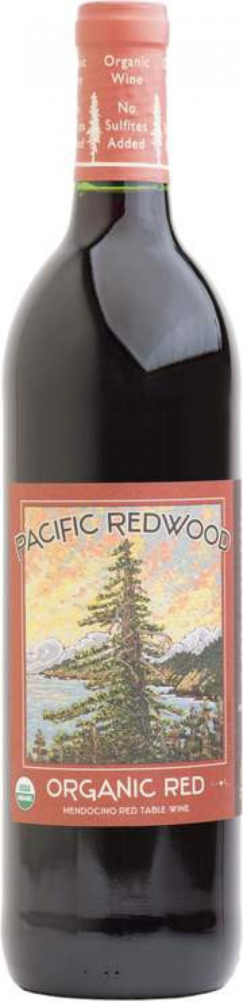 Pacific Redwood Organic Red Blend750ml