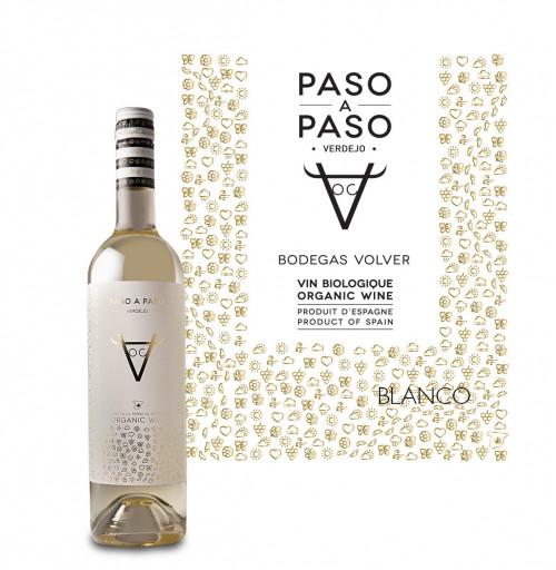 Volver Paso A Paso Organic Verdejo 750ml