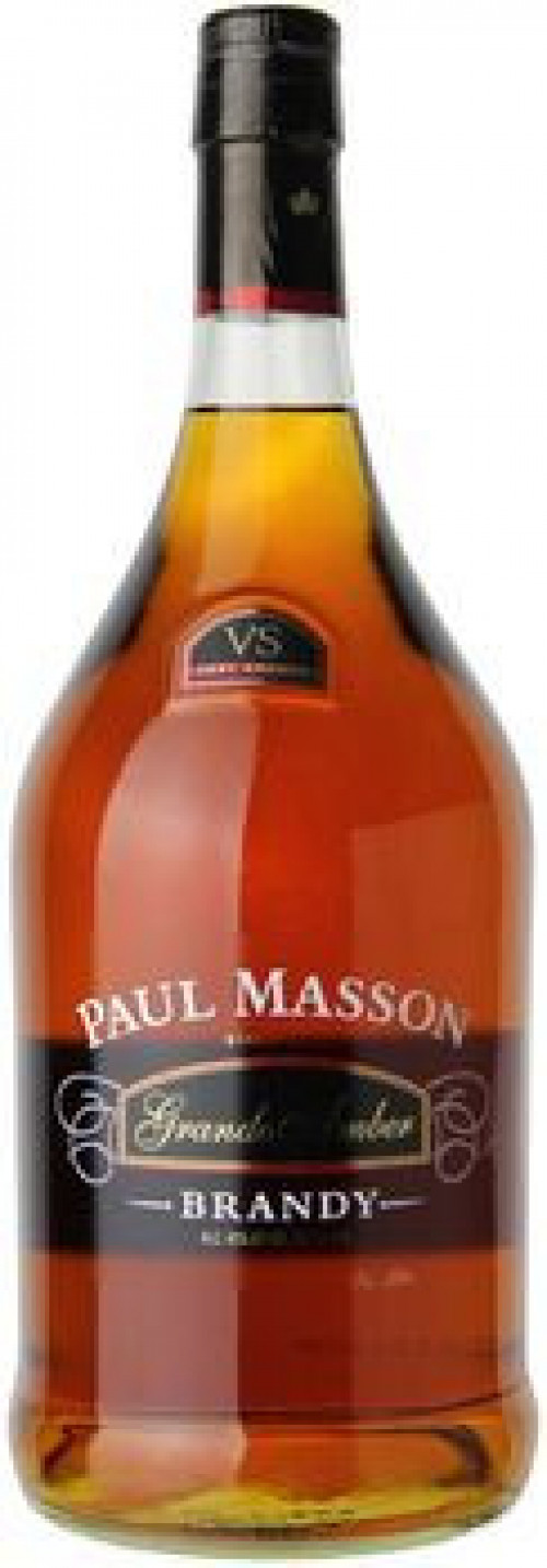 Paul Masson Grand Amber Brandy 1.75 Ltr