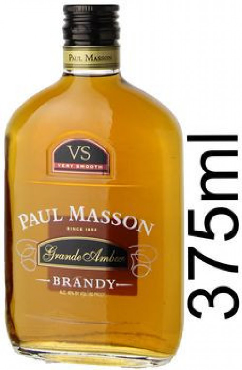 Paul Masson Grand Amber Brandy 375ml