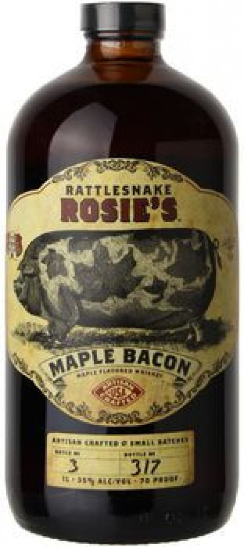 Rattlesnake Rosie's Maple Bacon Liqueur 1L