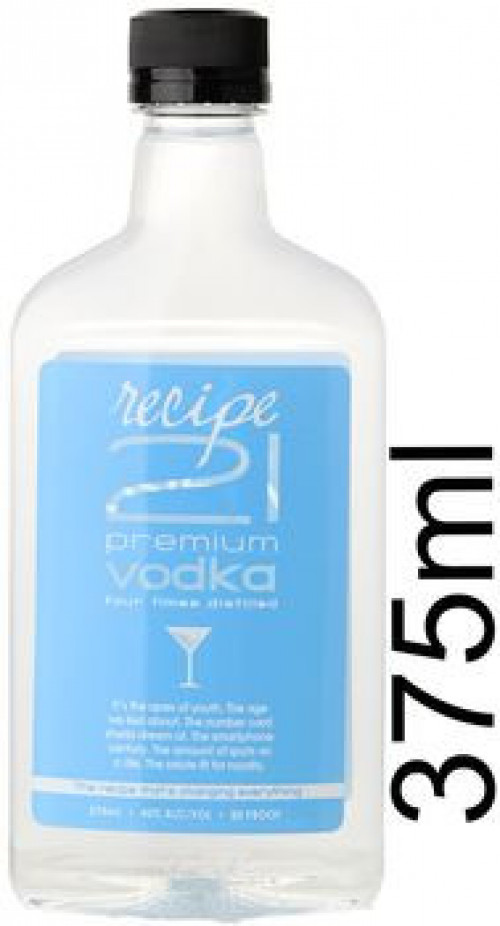 Recipe 21 Vodka 375ml