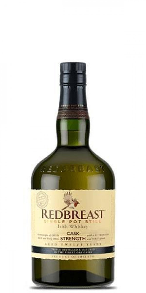 Red Breast 12yr Cask Strength Irish Whiskey 750ml