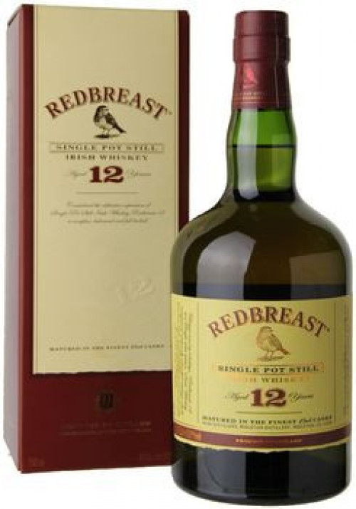 Redbreast 12yr Irish Whiskey 750ml