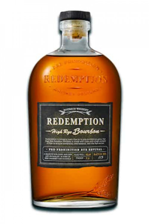 Redemption High Rye Straight Bourbon 750ml
