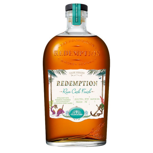 Redemption Rye Rum Cask Finish 750ml