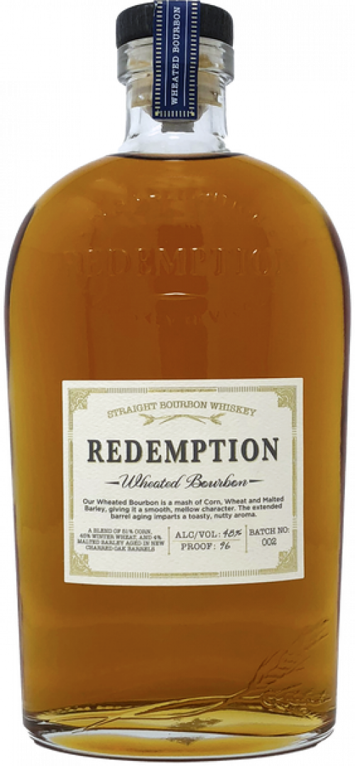 Redemption Wheated Straight Bourbon 750ml