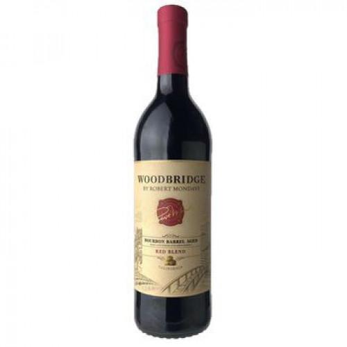 Woodbridge Br Robert Mondavi Bourbon Barrel Red Blend 750ml