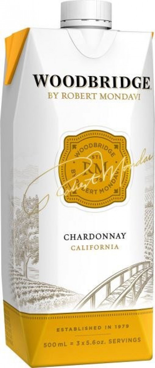 Woodbridge By Robert Mondavi Chardonnay 500 ml