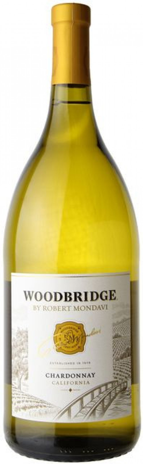 Woodbridge By Robert Mondavi Chardonnay 1.5 Ltr