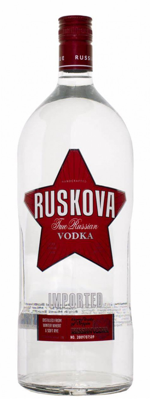 Ruskova Vodka 1.75 Ltr