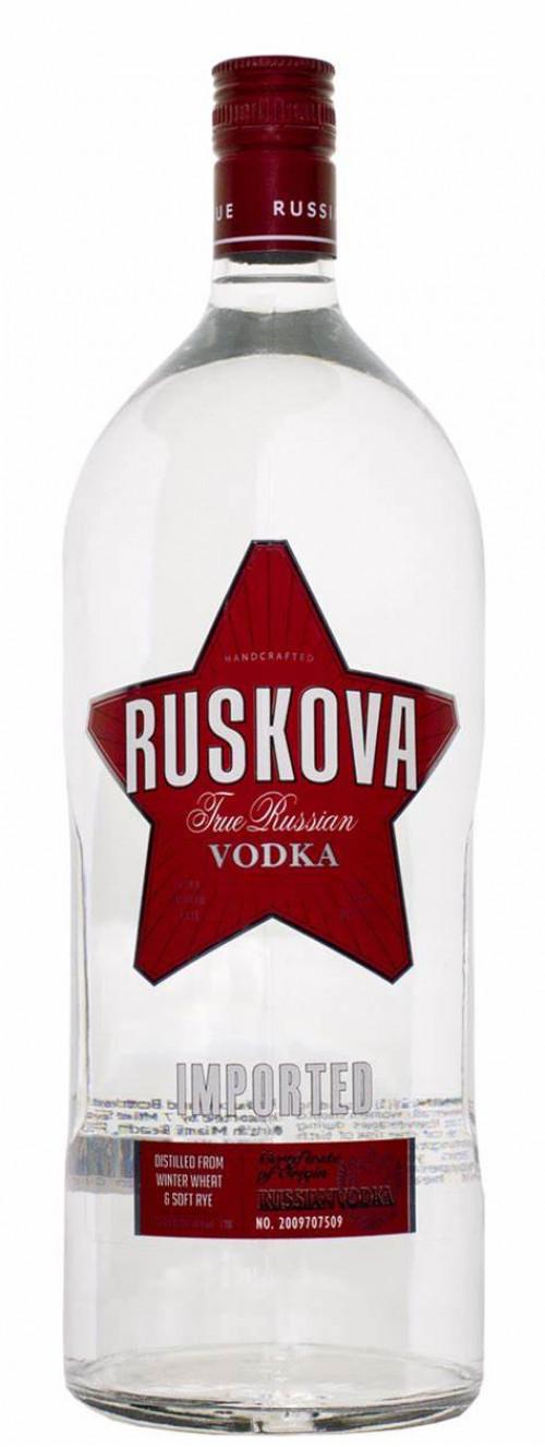 Ruskova Vodka 1.75 Ltr