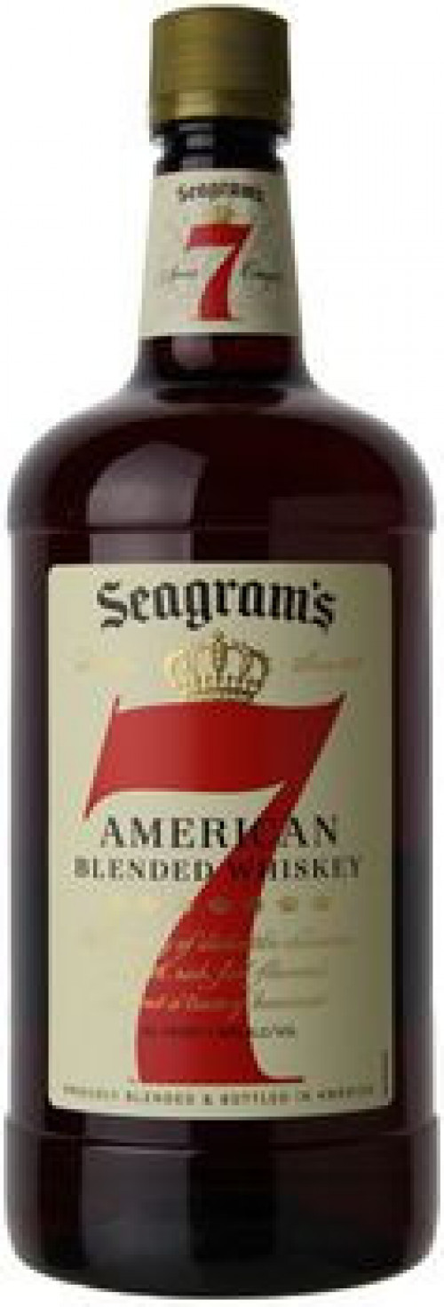 Seagram's 7 Crown Blended Whiskey 1.75 Ltr