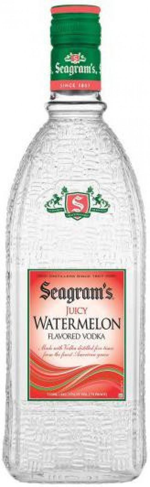 Seagram's Watermelon Flavored Vodka 1L