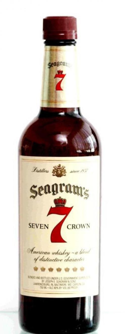 Seagram's 7 Crown Blended Whiskey 1L