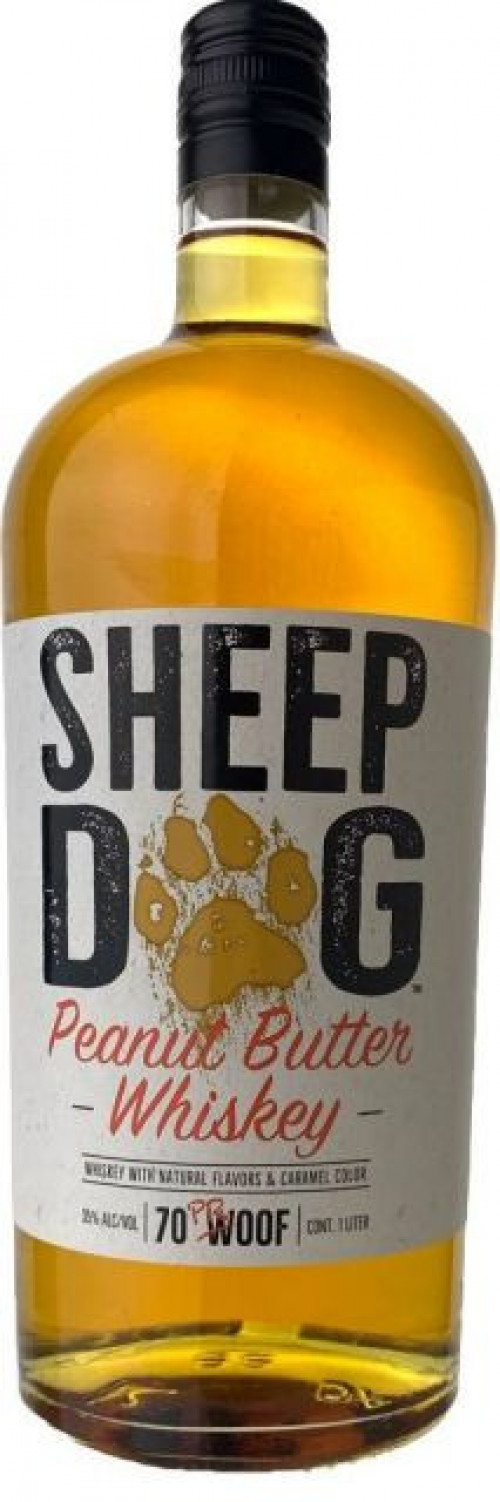 Sheep Dog Peanut butter Whiskey 1L