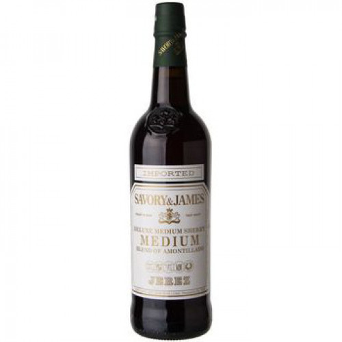 Savory & James Amontillado Sherry 750ml