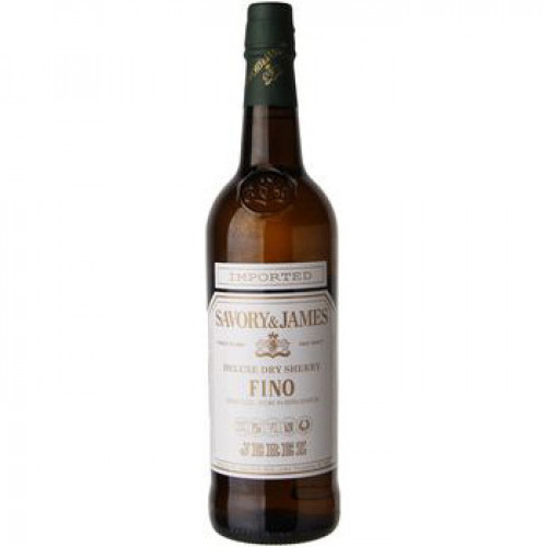 Savory & James Fino Sherry 750ml