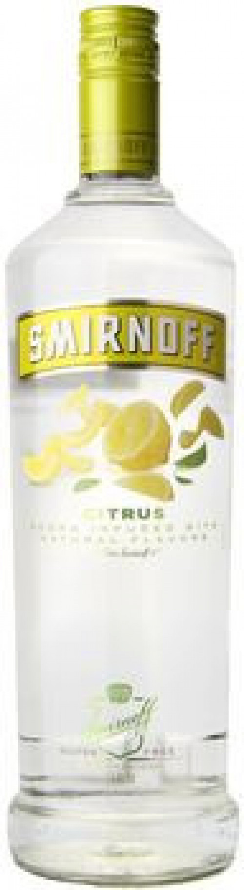 Smirnoff Citrus Flavored Vodka 750ml