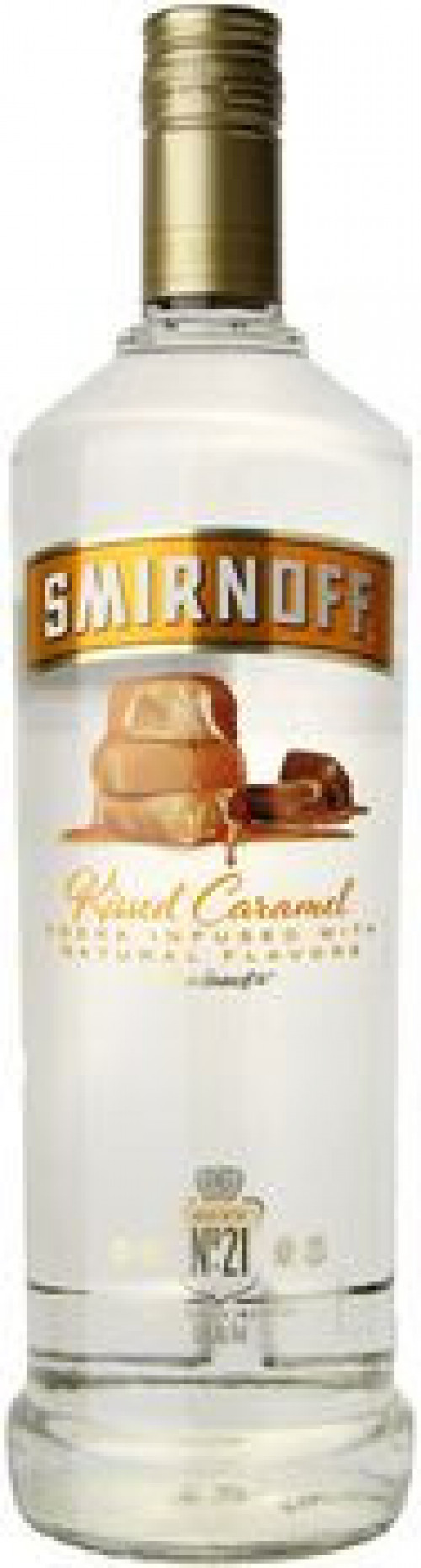 Smirnoff Kissed Caramel Flavored Vodka 1L