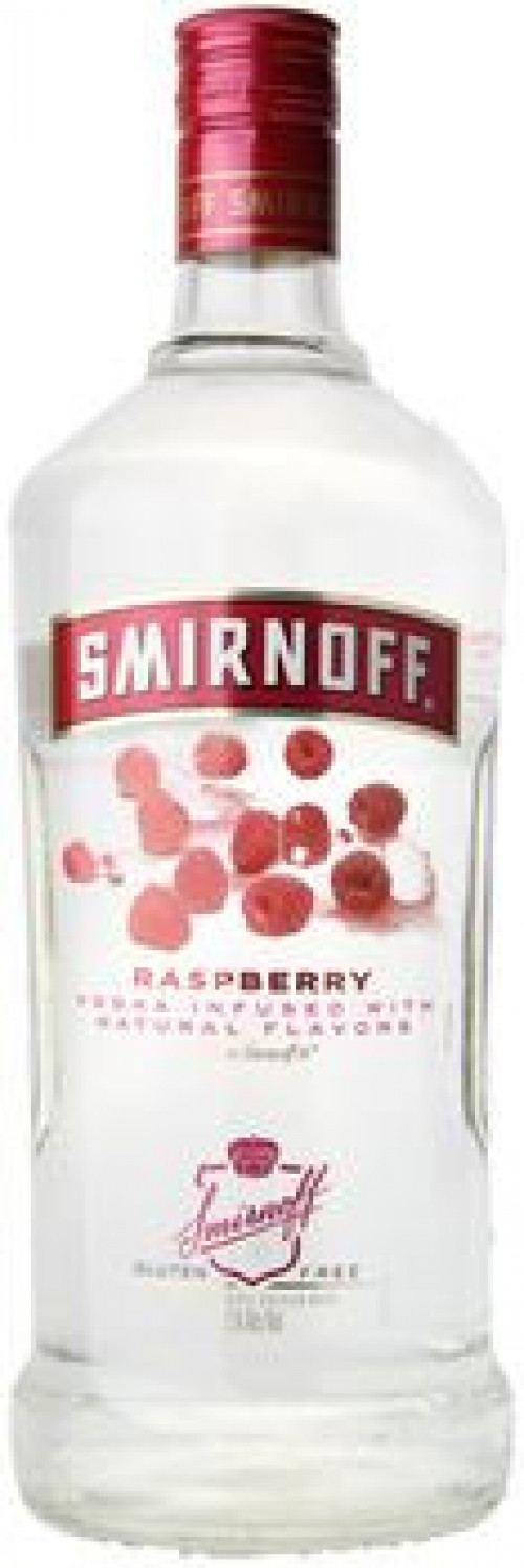 Smirnoff Raspberry Flavored Vodka 1.75 Ltr