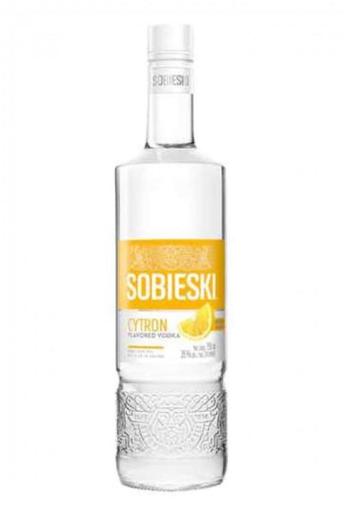 Sobieski Cytron Flavored Vodka 1L