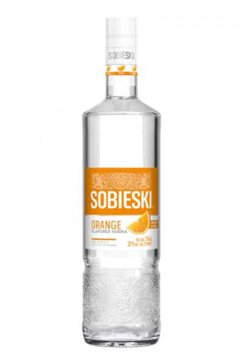 Sobieski Orange Flavored Vodka 1L