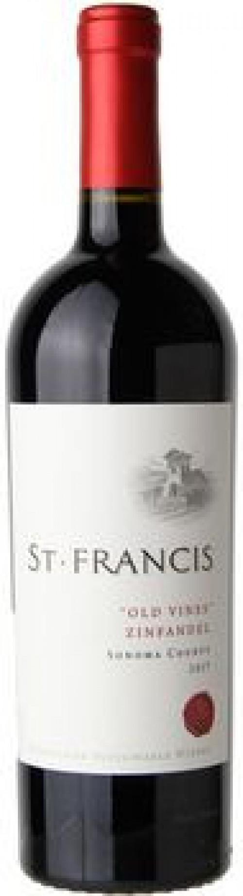 St Francis Old Vine Zinfandel 750ml