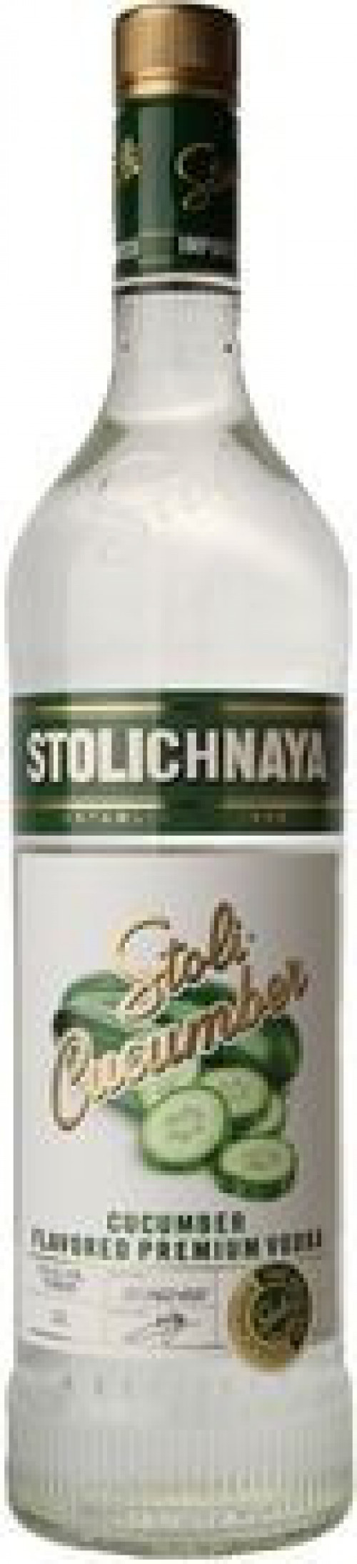 Stolichnaya Cucumber Flavored Vodka 1L