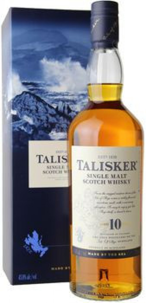 Talisker 10yr Single Malt Scotch 750ml