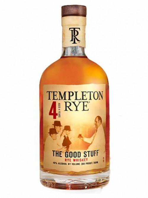 Templeton 4yr Rye 750ml