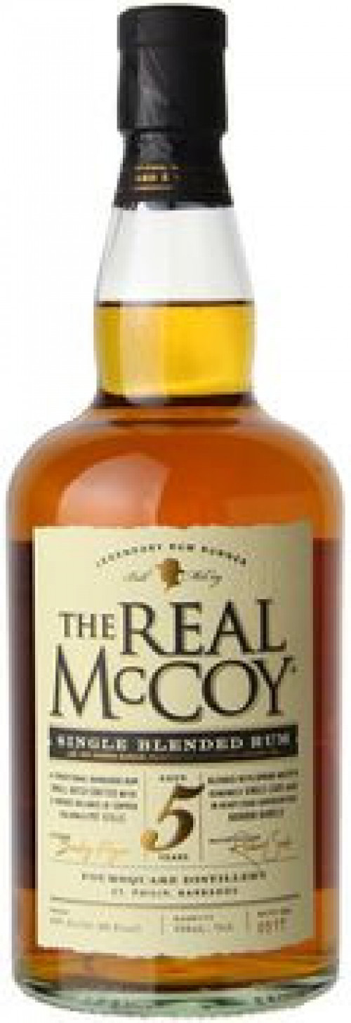 Real McCoy 5yr Rum 750ml