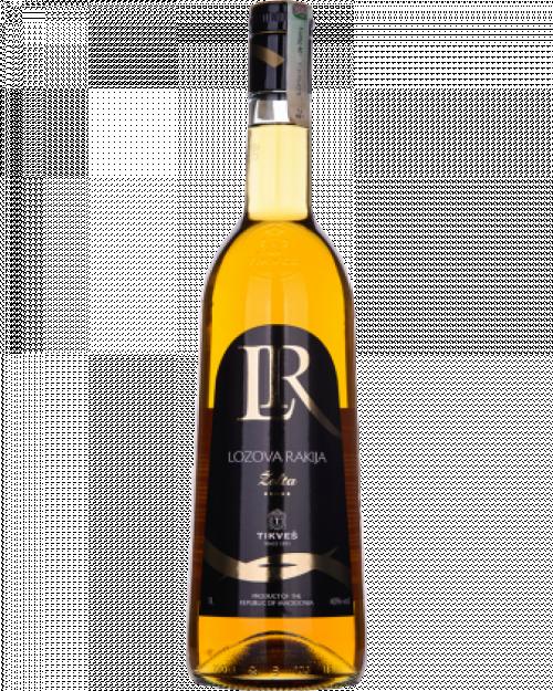 Tikves Lazova Rakija Yellow Brandy 1L