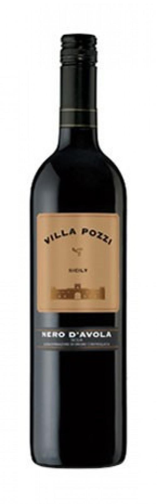 Villa Pozzi Nero D'avola 750ml