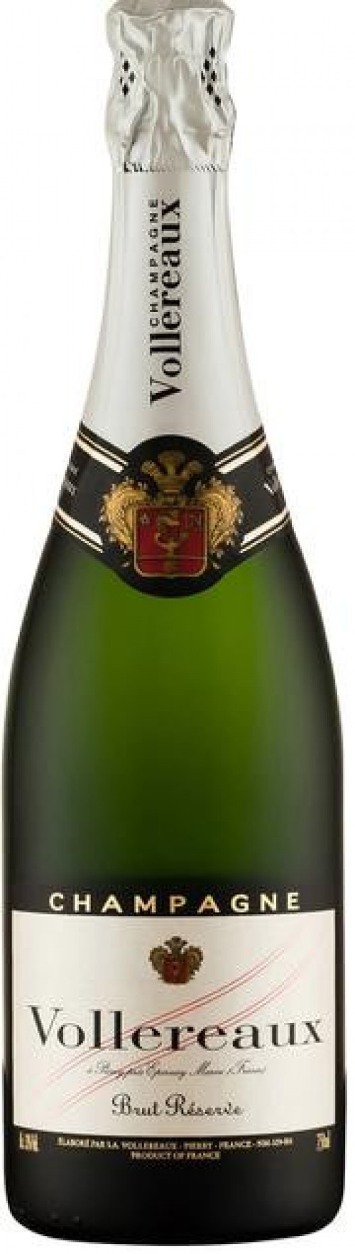 Vollereaux Brut Reserve Champagne 750ml