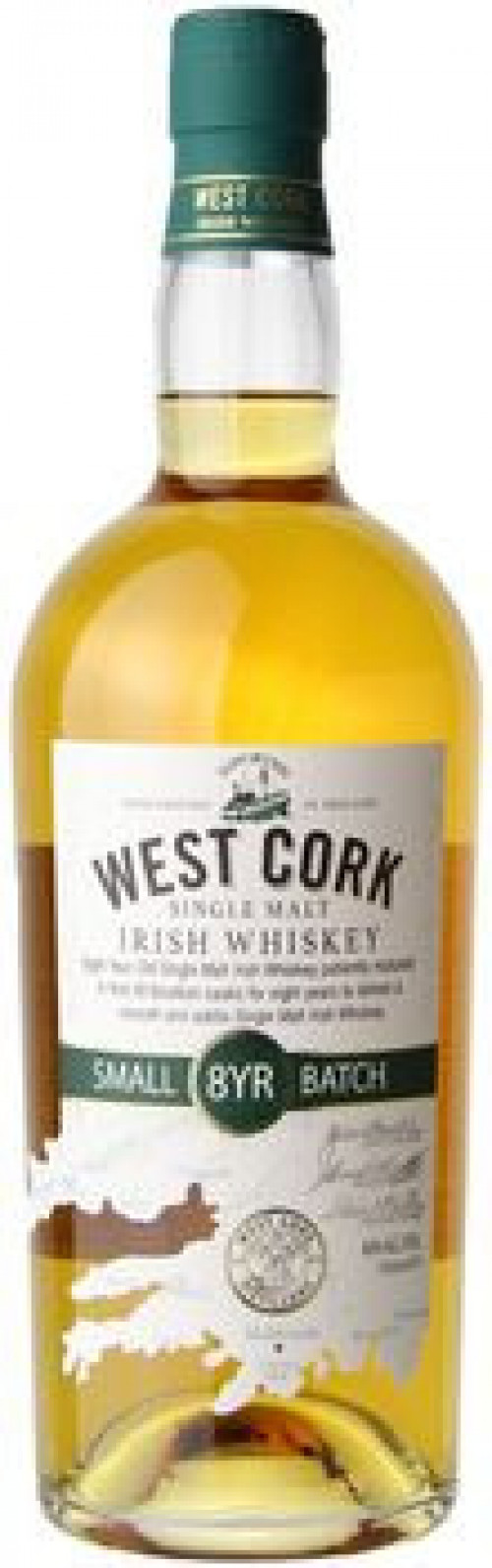 West Cork 8yr Irish Whiskey 750ml