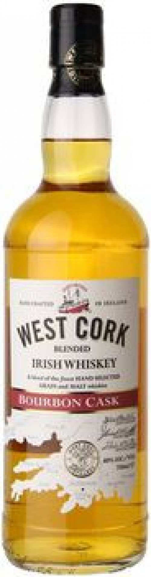 West Cork Bourbon Cask Irish Whiskey 750ml