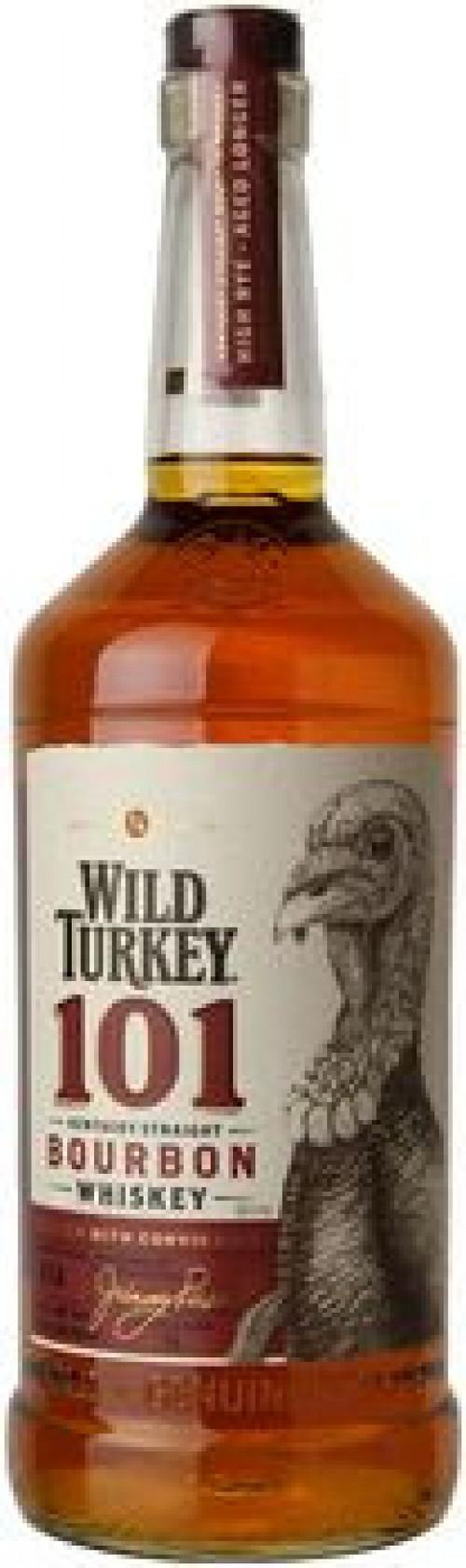 Wild Turkey 101 Kentucky Straight Bourbon 1L
