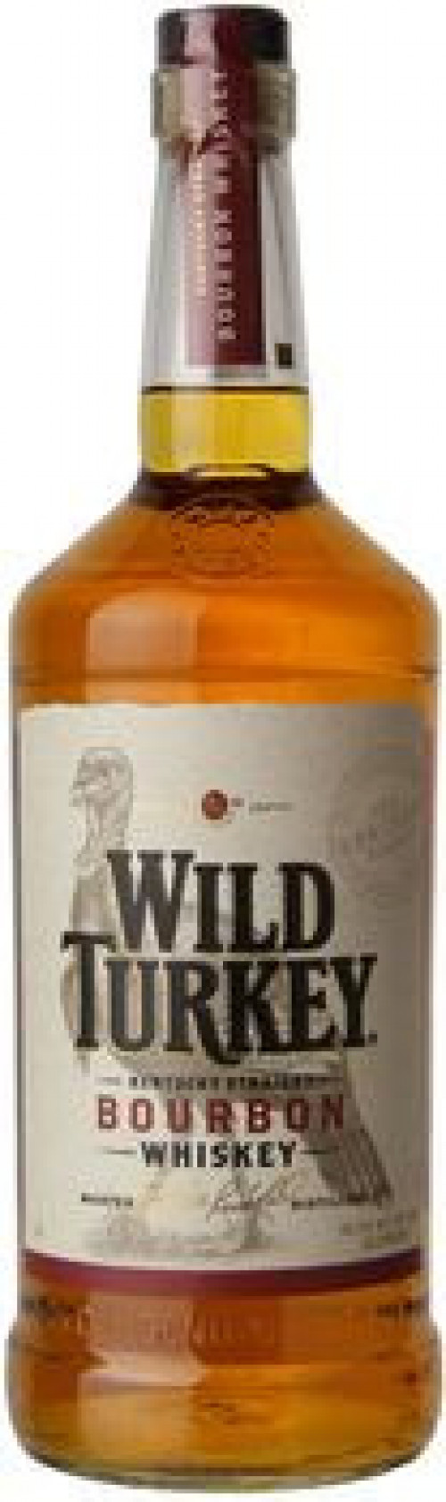 Wild Turkey 81 Kentucky Straight Bourbon 1L