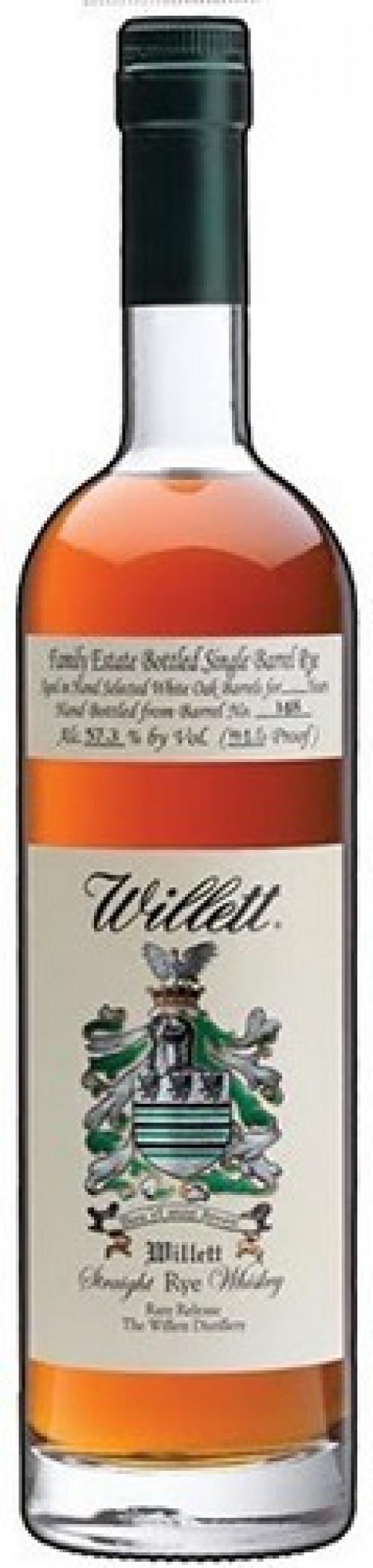 Willett Straight Rye 4Yr 750ml