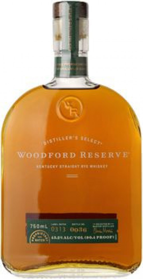 Woodford Reserve Kentucky Straight Rye 750ml