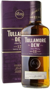 Tullamore Dew 12yr Irish Whiskey 750ml