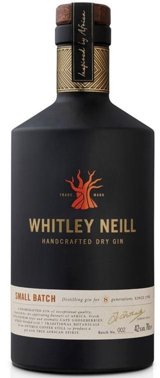Whitney Neill Small Batch Dry Gin 750ml