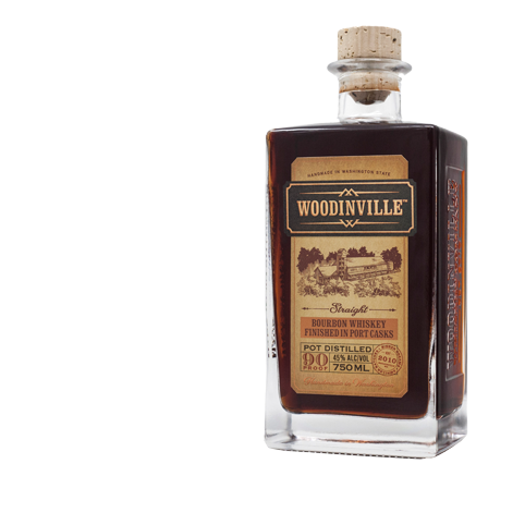 Woodinville Straight Bourbon Port Finished 750ml