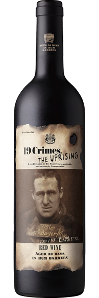19 Crimes Uprising Red 750ml NV
