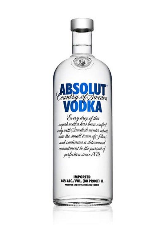 Absolut Vodka 80 Proof 1L